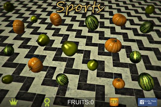 XP Booster Super Fruit Sports poster