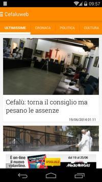 Cefalù & Madonie Web Sicilia poster