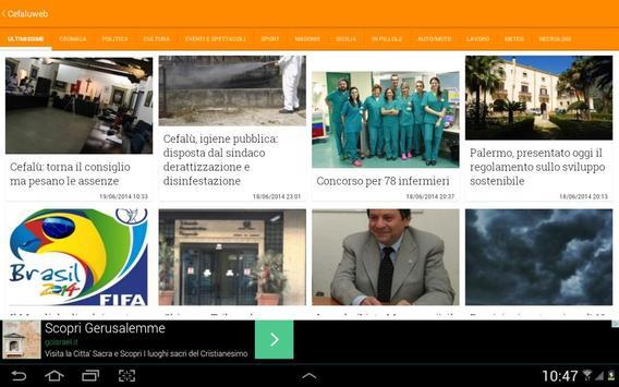 Cefalù & Madonie Web Sicilia screenshot 10
