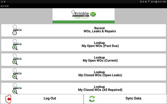 Krinkle LDAR screenshot 3