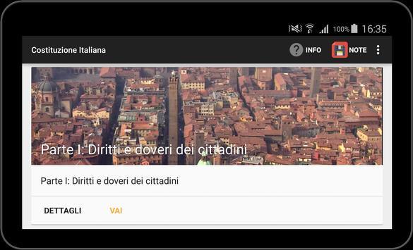 Costituzione Italiana apk screenshot