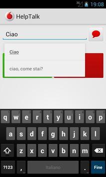 HelpTalk apk screenshot