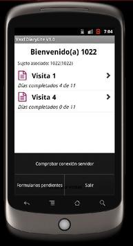 VaxEdiary Lite apk screenshot