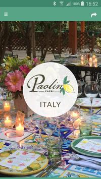 Paolino - Capri Restaurant poster