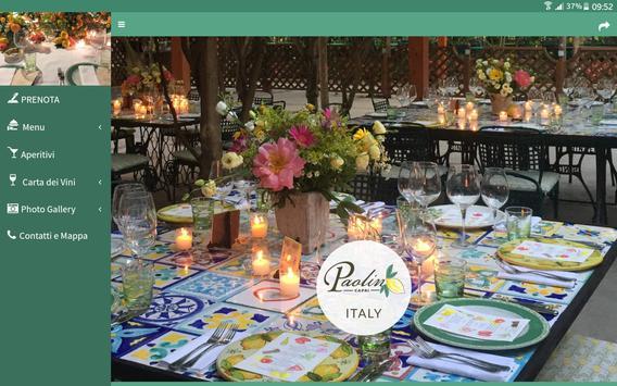 Paolino - Capri Restaurant apk screenshot