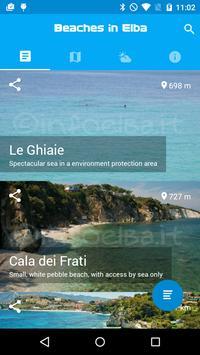 Beaches in Elba poster