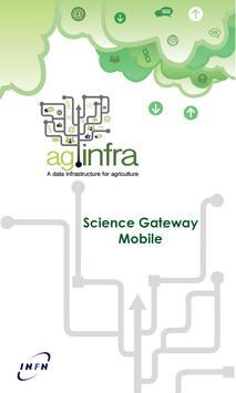 agINFRA SG Mobile poster