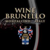 Wine Brunello icon