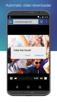KYMS - Keep your media safe apk screenshot