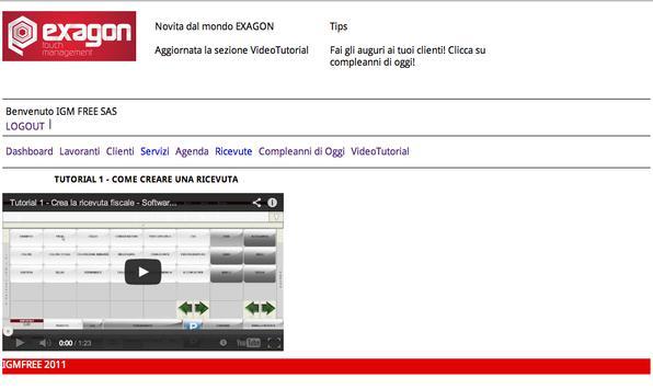 ExagonApp screenshot 1