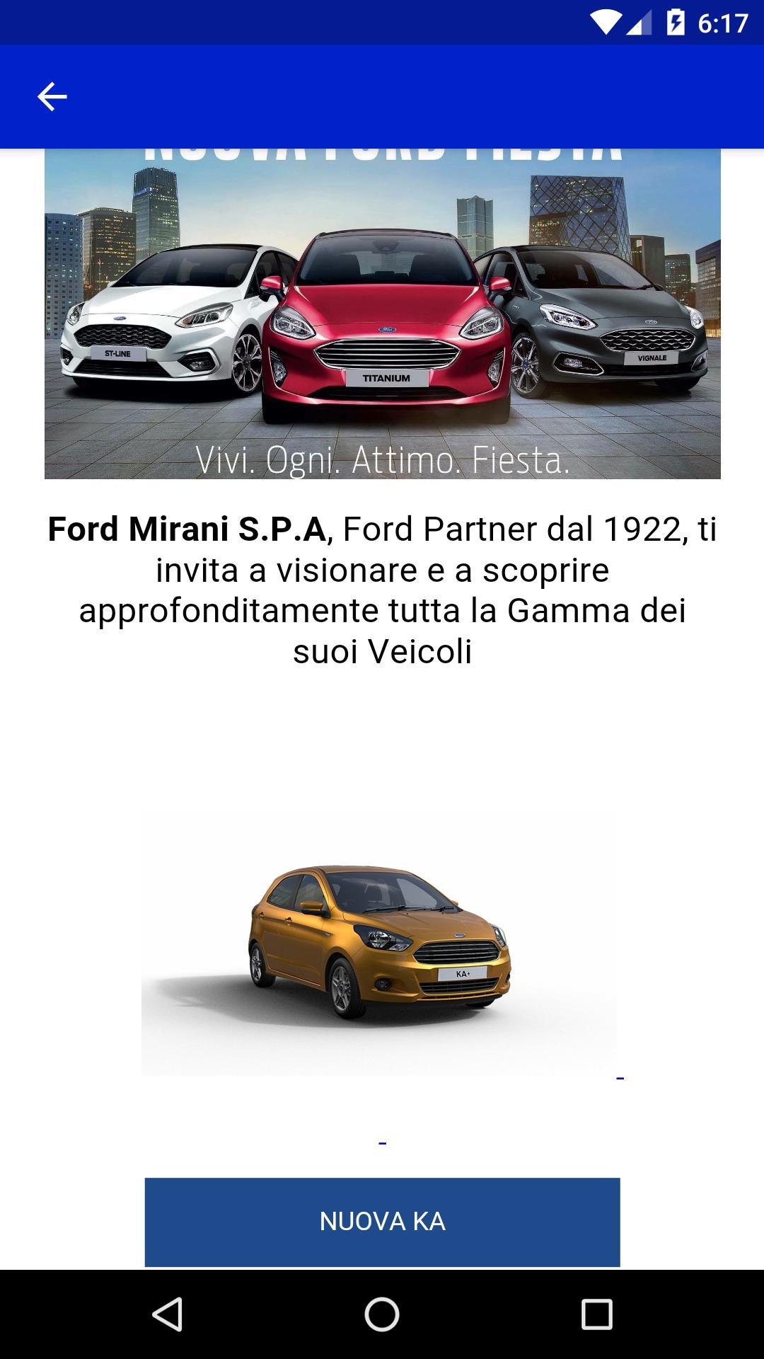 Ford Mirani poster