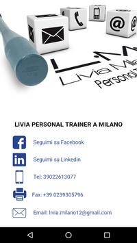 Livia Milano Personal Trainer apk screenshot