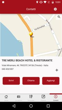 Tre Merli Beach Hotel screenshot 1