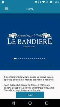Sporting Club Le Bandiere poster