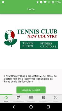 Tennis Club New Country poster