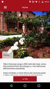 Villa il Cannone poster