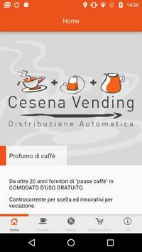 Cesena Vending poster
