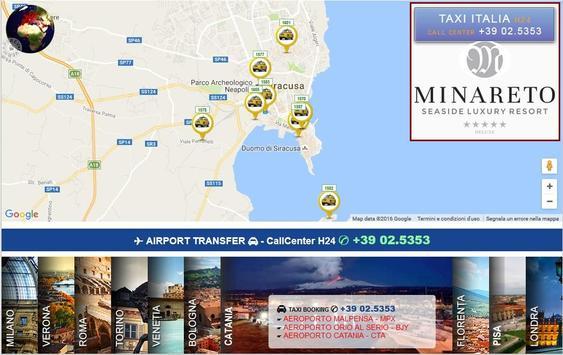 TAXI ITALY - www.etaxi.it screenshot 3