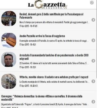 La Gazzetta Ragusana apk screenshot