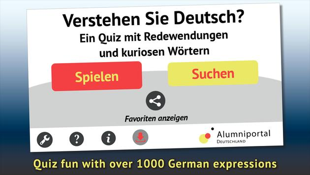 Do you understand German? poster