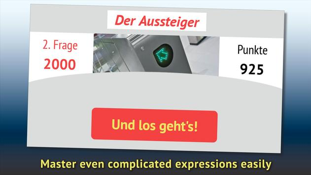 Do you understand German? screenshot 13