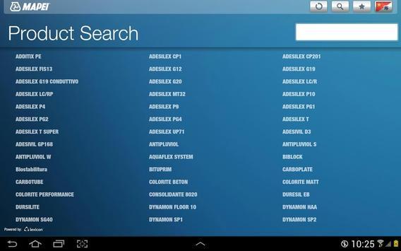 Mapei CN apk screenshot
