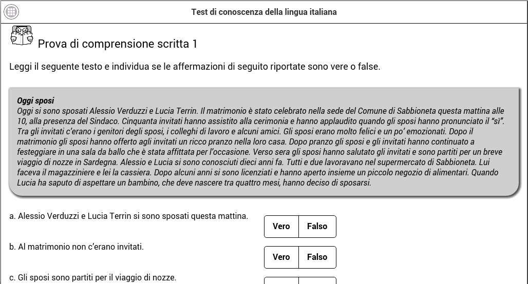 Test di italiano for Android - APK Download