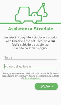 Linear Assistenza stradale poster