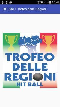 HIT BALL Trofeo delle Regioni poster