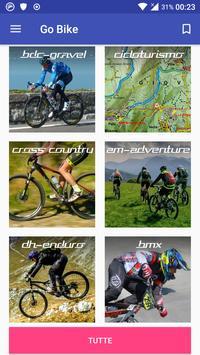 Go Bike L'app di ogni ciclista poster
