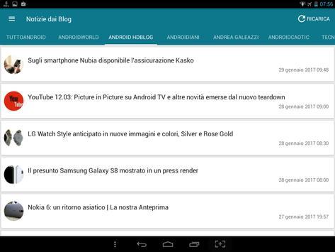 Notizie su Android screenshot 4