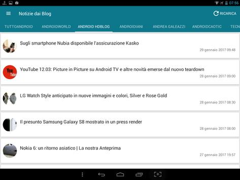 Notizie su Android screenshot 4