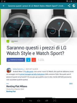 Notizie su Android screenshot 6