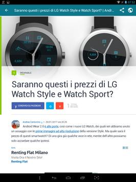 Notizie su Android screenshot 6