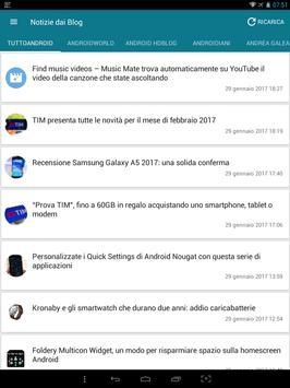 Notizie su Android screenshot 7