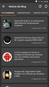 Notizie su Android screenshot 1