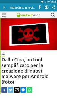 Notizie su Android screenshot 2