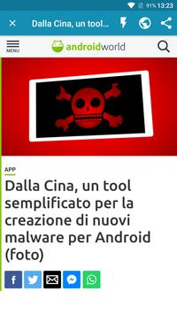 Notizie su Android screenshot 2