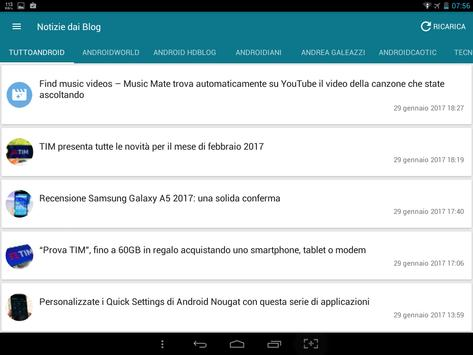 Notizie su Android screenshot 3