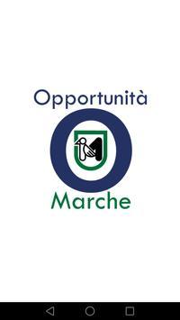Opportunità Marche poster