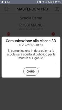 MasterCom - Registro Elettronico per famiglie screenshot 6