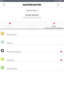 MasterCom - Registro Elettronico per famiglie screenshot 11