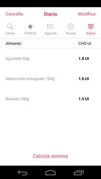 Insulin&Food Conta Carboidrati screenshot 4