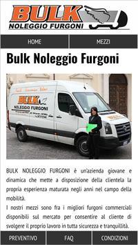 Bulk Noleggio Furgoni poster