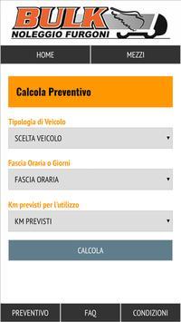 Bulk Noleggio Furgoni screenshot 3