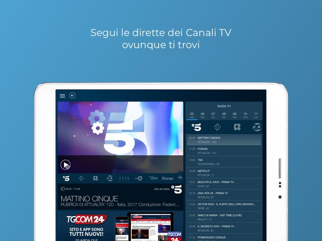 download mediaset play