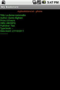 My Bookstore apk screenshot
