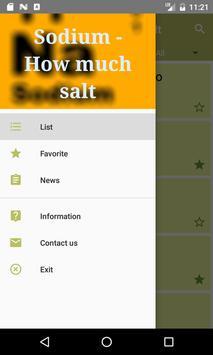 Sodio -  Quanto Sale apk screenshot