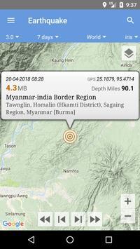 Earthquake screenshot 3