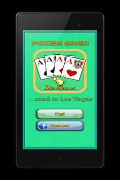 Poker Saga - road to Las Vegas apk screenshot